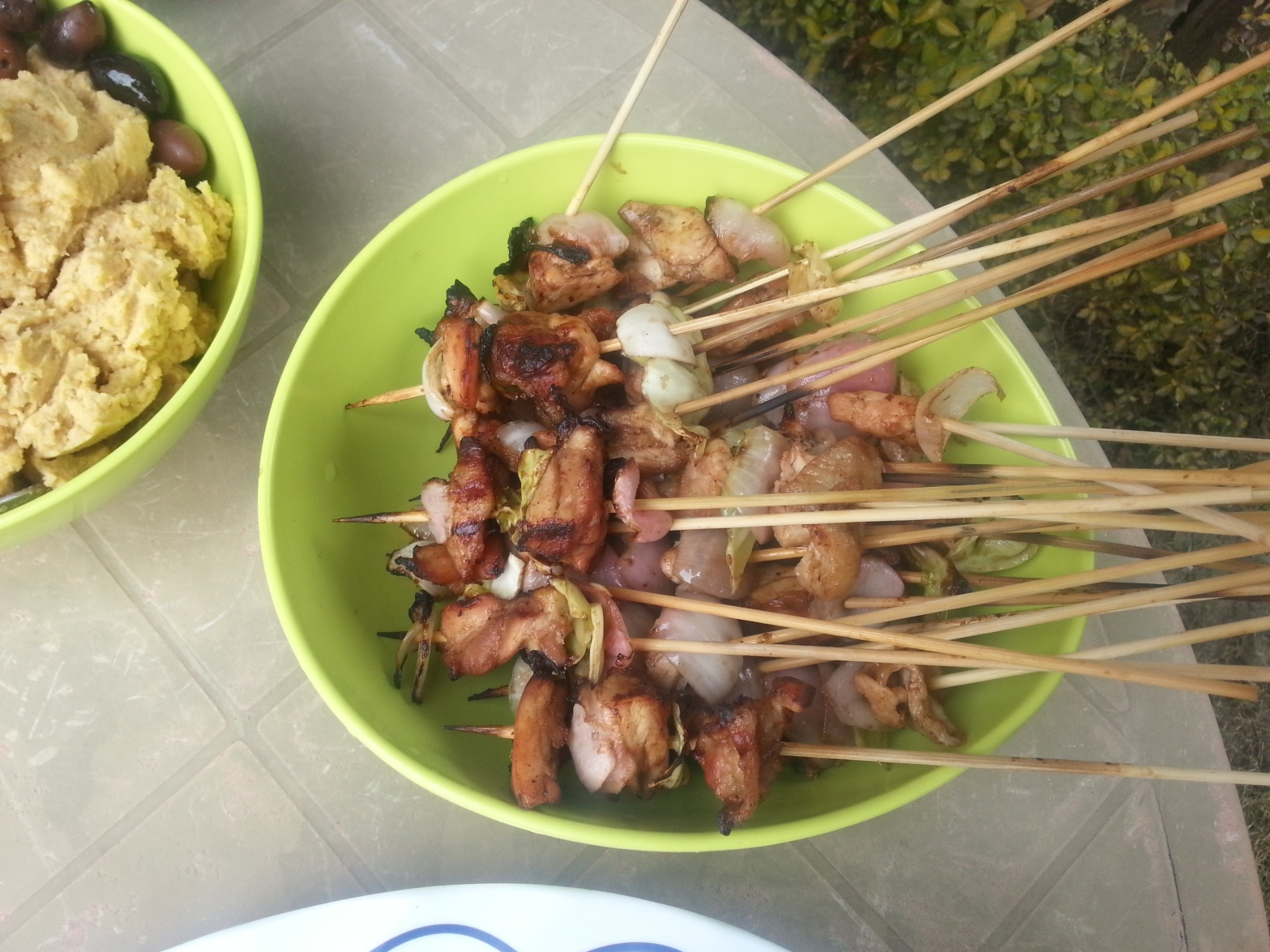 BBQ Stickx - chicken marinated in Oyster Sauce
