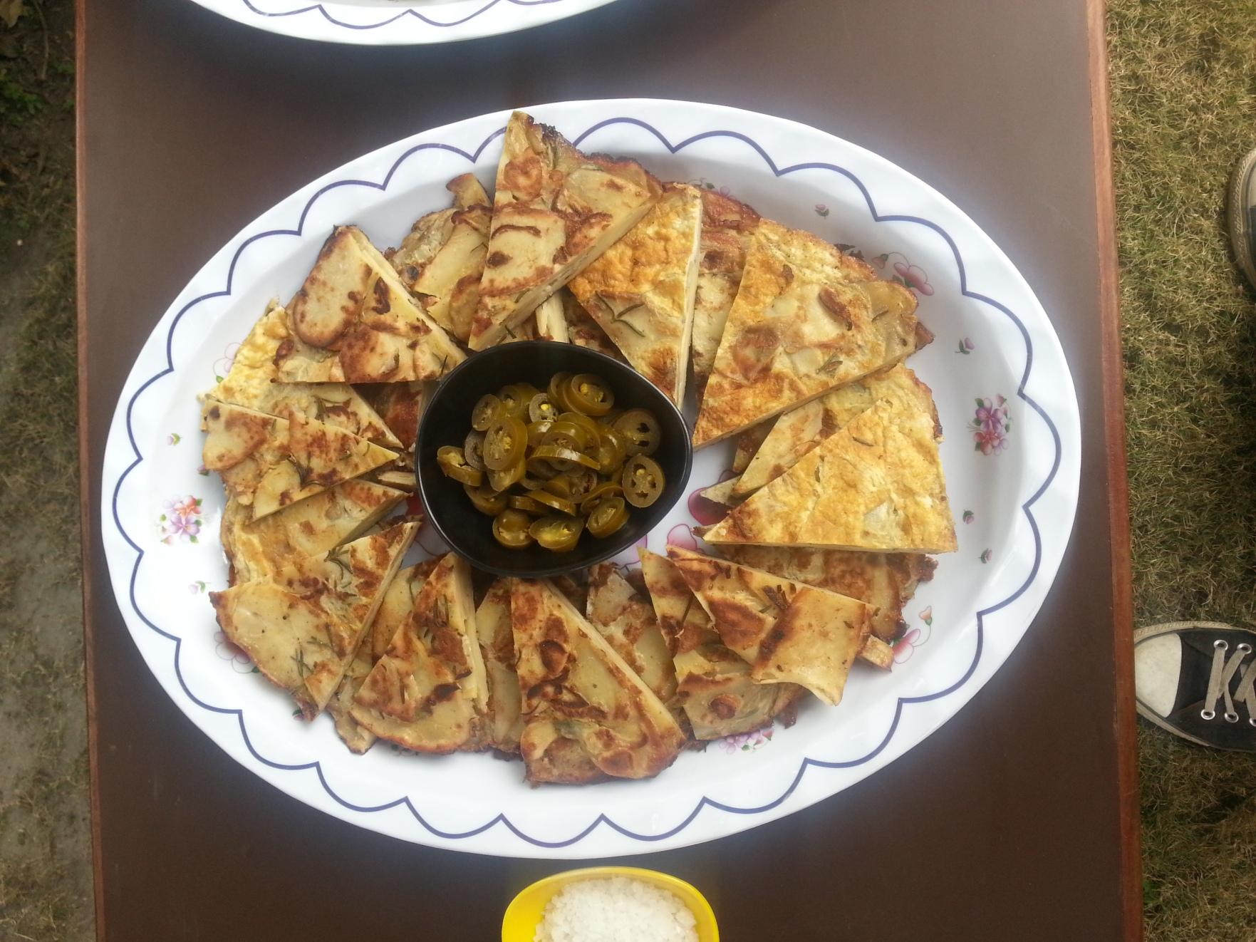 Tortilla m. Jalapenos