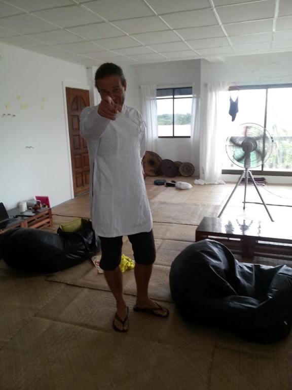 Thomas in Nepale shirt