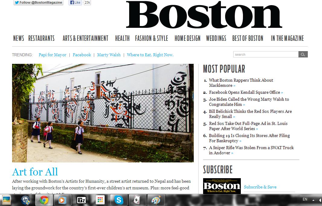 Imagine Tings In Boston