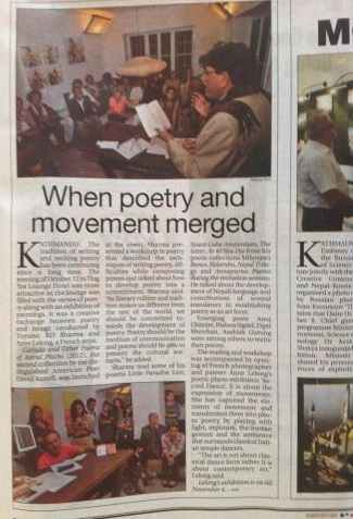 Poetry@Tings Himalayan Times