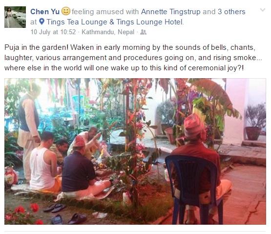 Ravi Wedding Chen You's post on FB